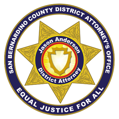 the logo of the district attorney's office