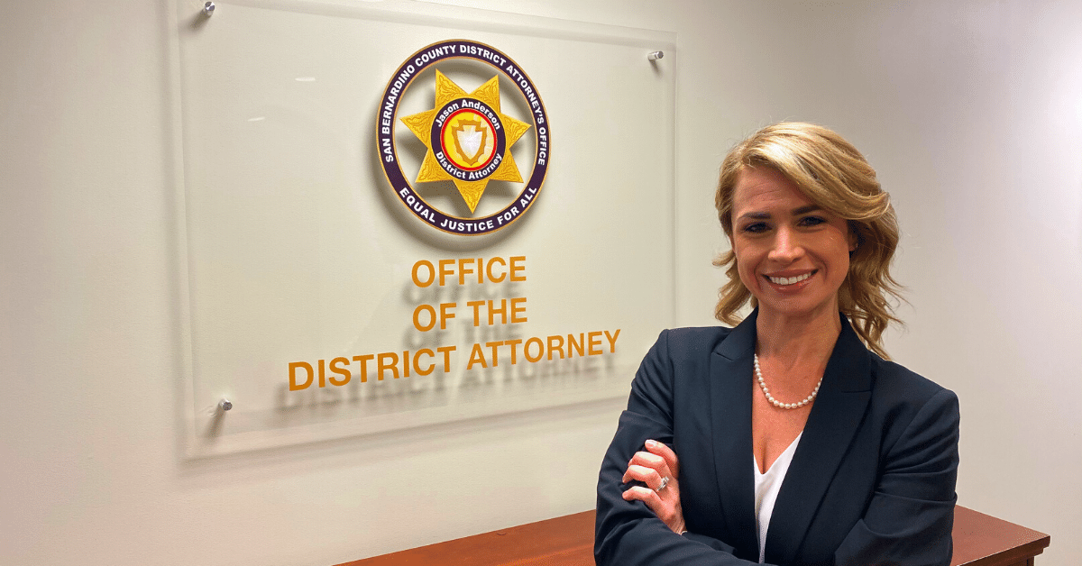 Ryan Isenberg in her office
