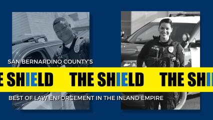 The Shield banner