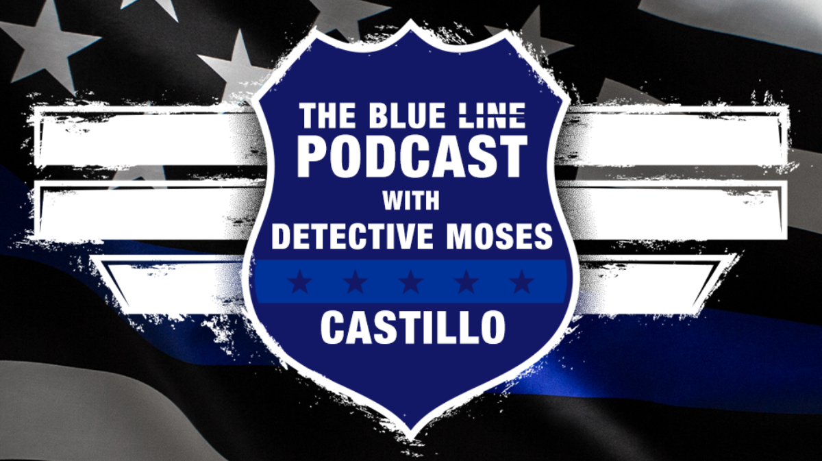 Blue Line Podcast graphic
