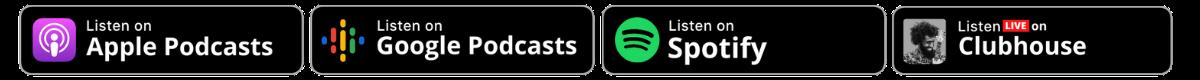 Podcast platform graphic